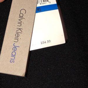 Calvin Klein Tops - Calvin Klein Black Peek-a-boo Sweater